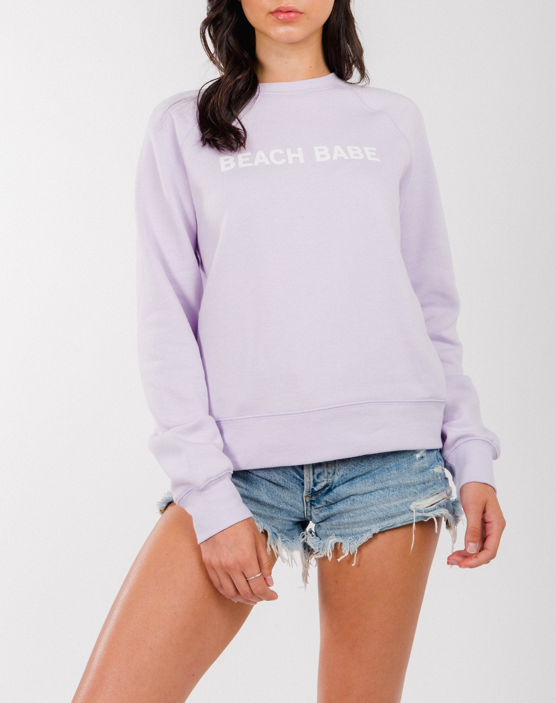 """BEACH BABE"" Middle Sister Crew 