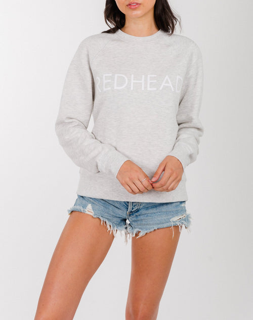 "The ""REDHEAD"" Middle Sister Crew Neck Sweatshirt 