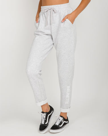 "The ""BABES SUPPORTING BABES"" Rolled Cuff Joggers 