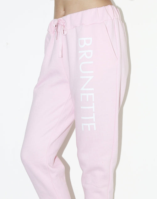 "The ""BRUNETTE"" Printed Joggers 