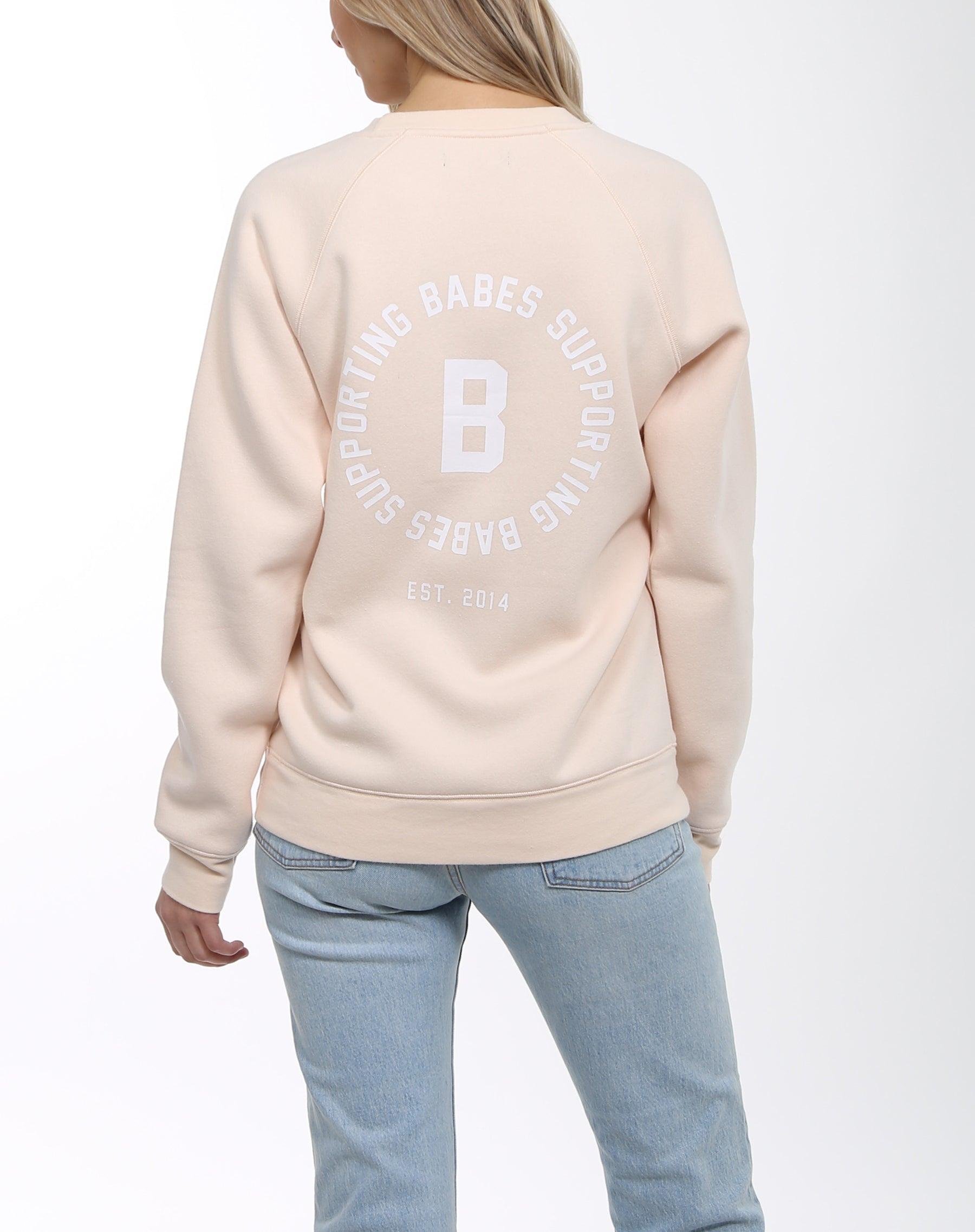 "The ""BABES SUPPORTING BABES"" Varsity Crew 
