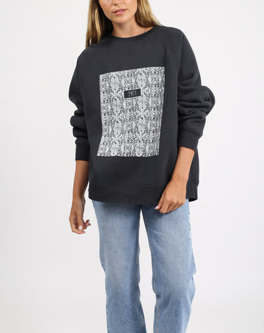 "The ""EQUESTRIAN"" Big Sister Crew Neck Sweatshirt 