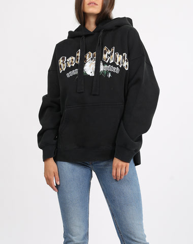 "The ""JET BLACK CREST"" Step Sister Crew Neck Sweatshirt 