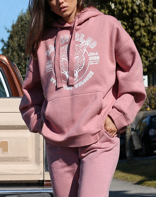 "The ""LEOPARD"" Big Sister Hoodie 