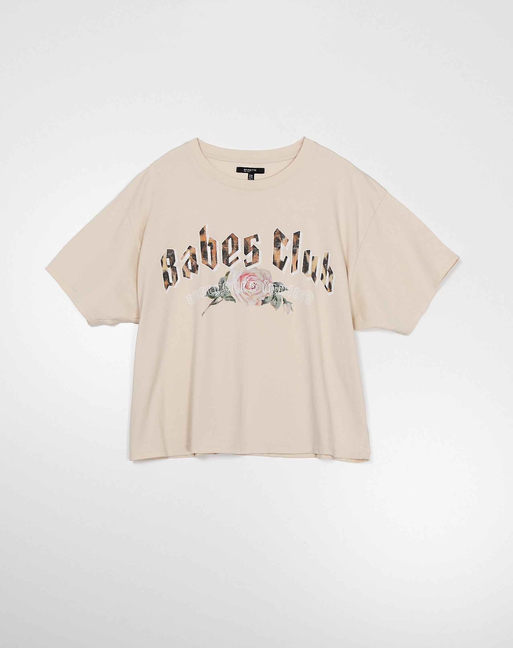 "The ""BABES CLUB"" Boxy Tee 