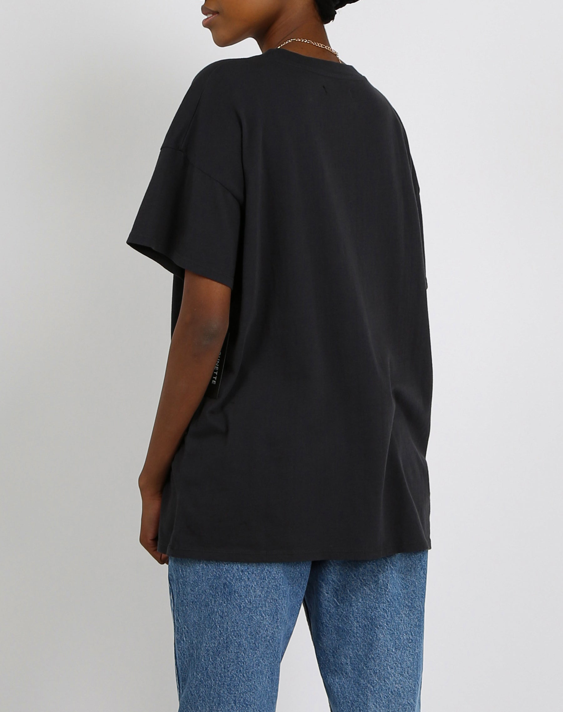"The ""BABES CLUB"" Oversized Boxy Crew Neck Tee 