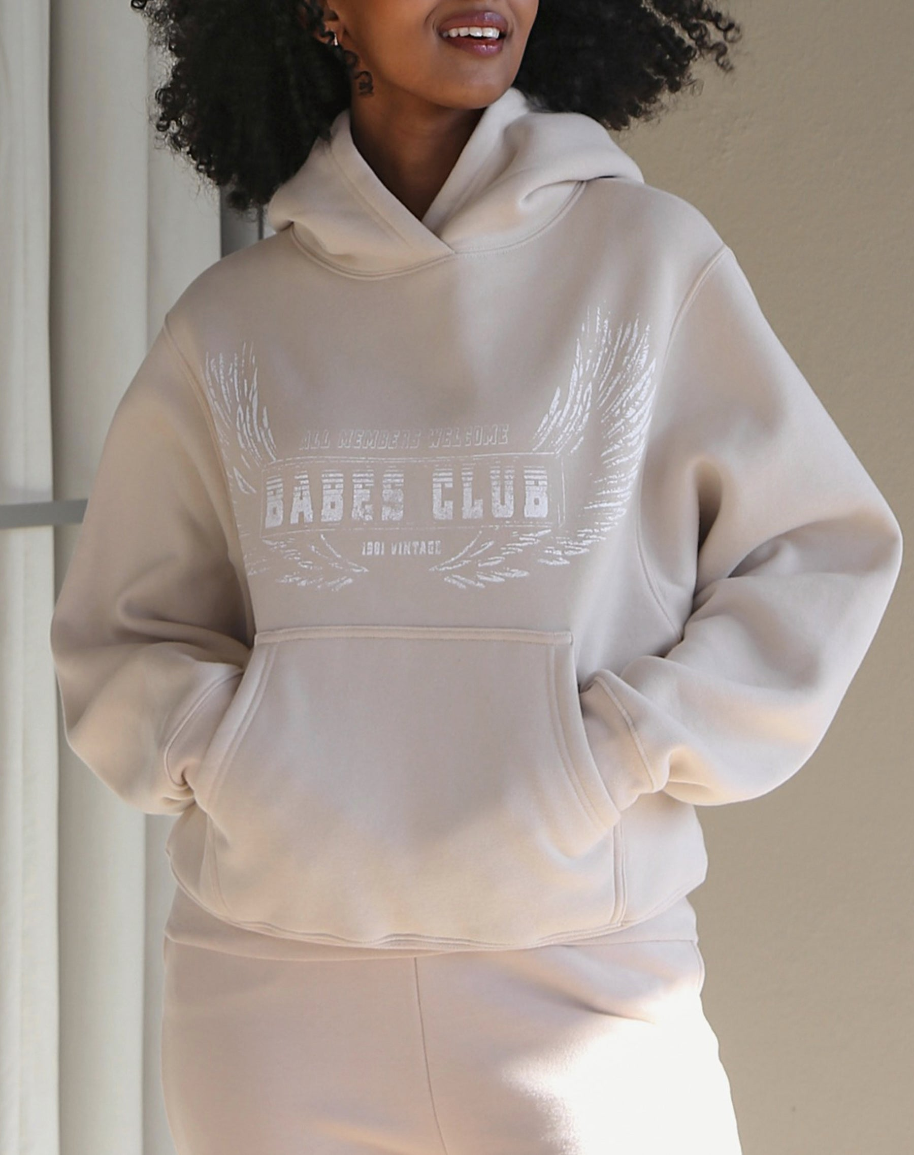 "The ""WELCOME TO THE BABES CLUB"" Best Friend Hoodie 