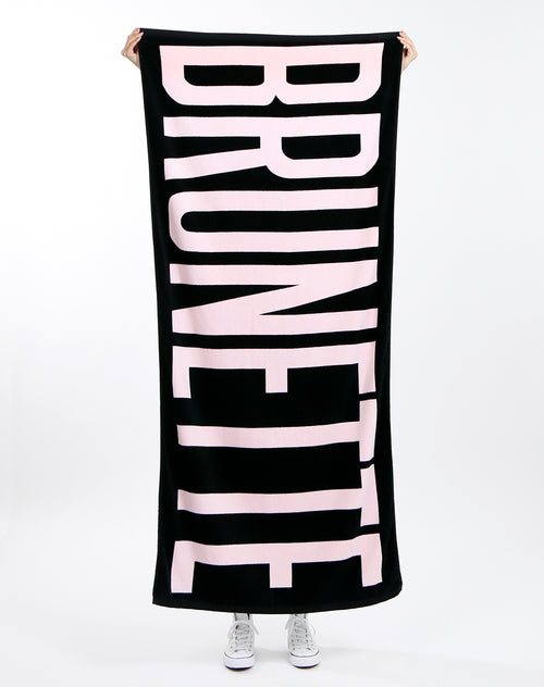 "The ""BRUNETTE"" Beach Towel"