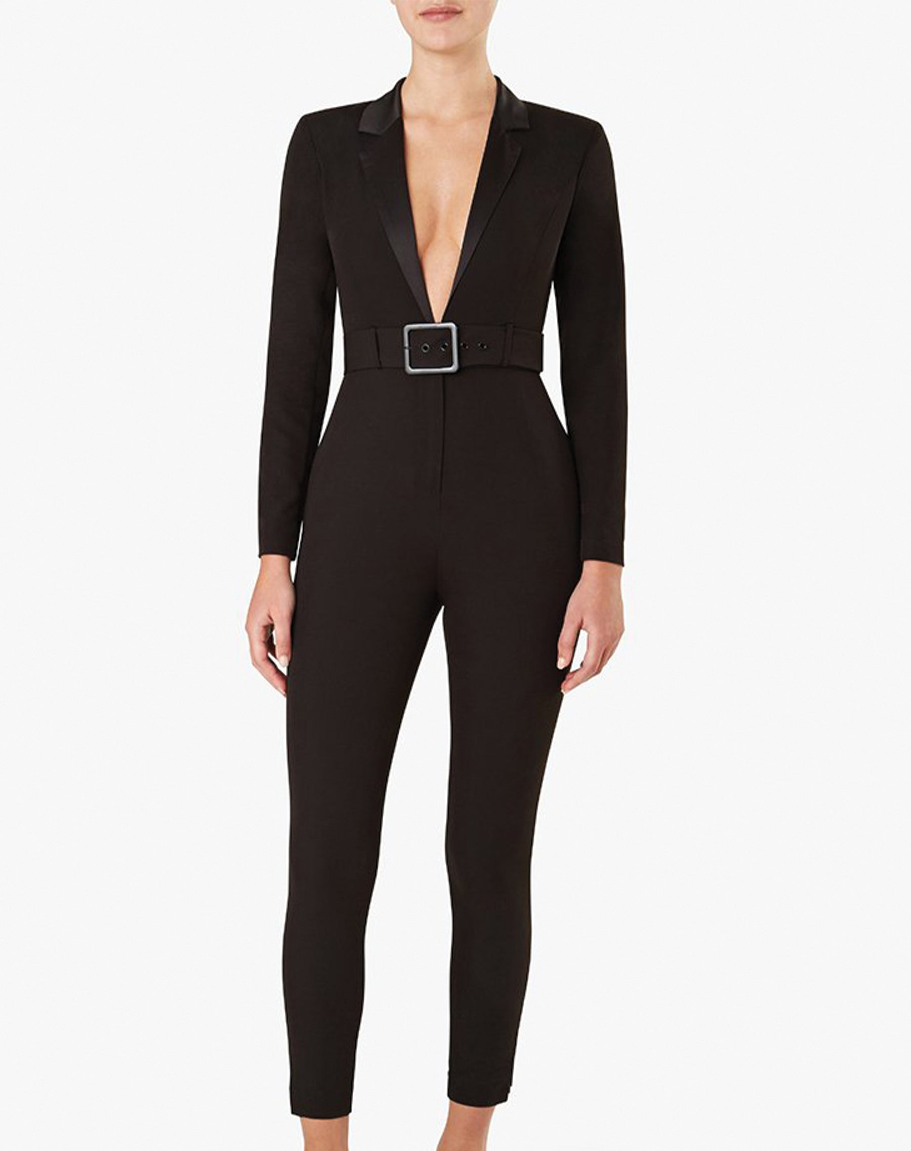 "The ""BLAZER"" Jumpsuit in Black 