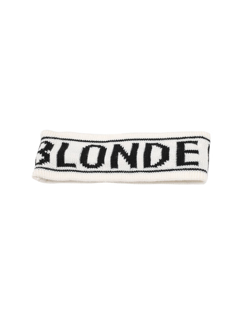 This is a photo of the Blonde Head band in Cream by Brunette the Label.