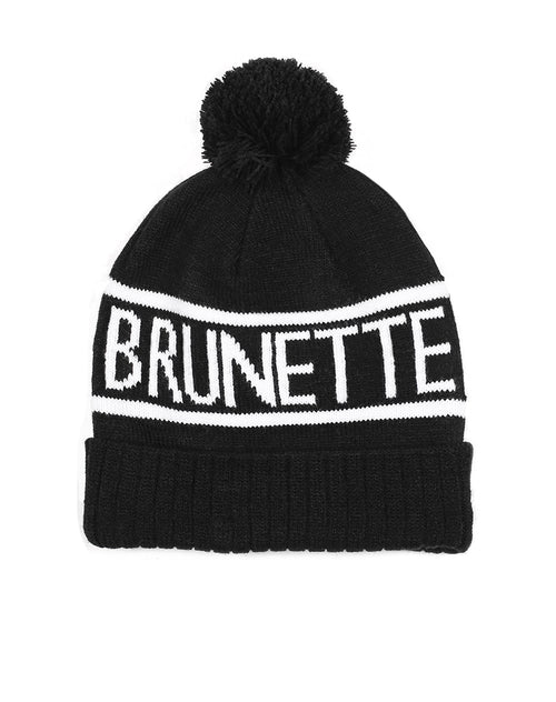 This is a photo of the Brunette Toque in Black by Brunette the Label.