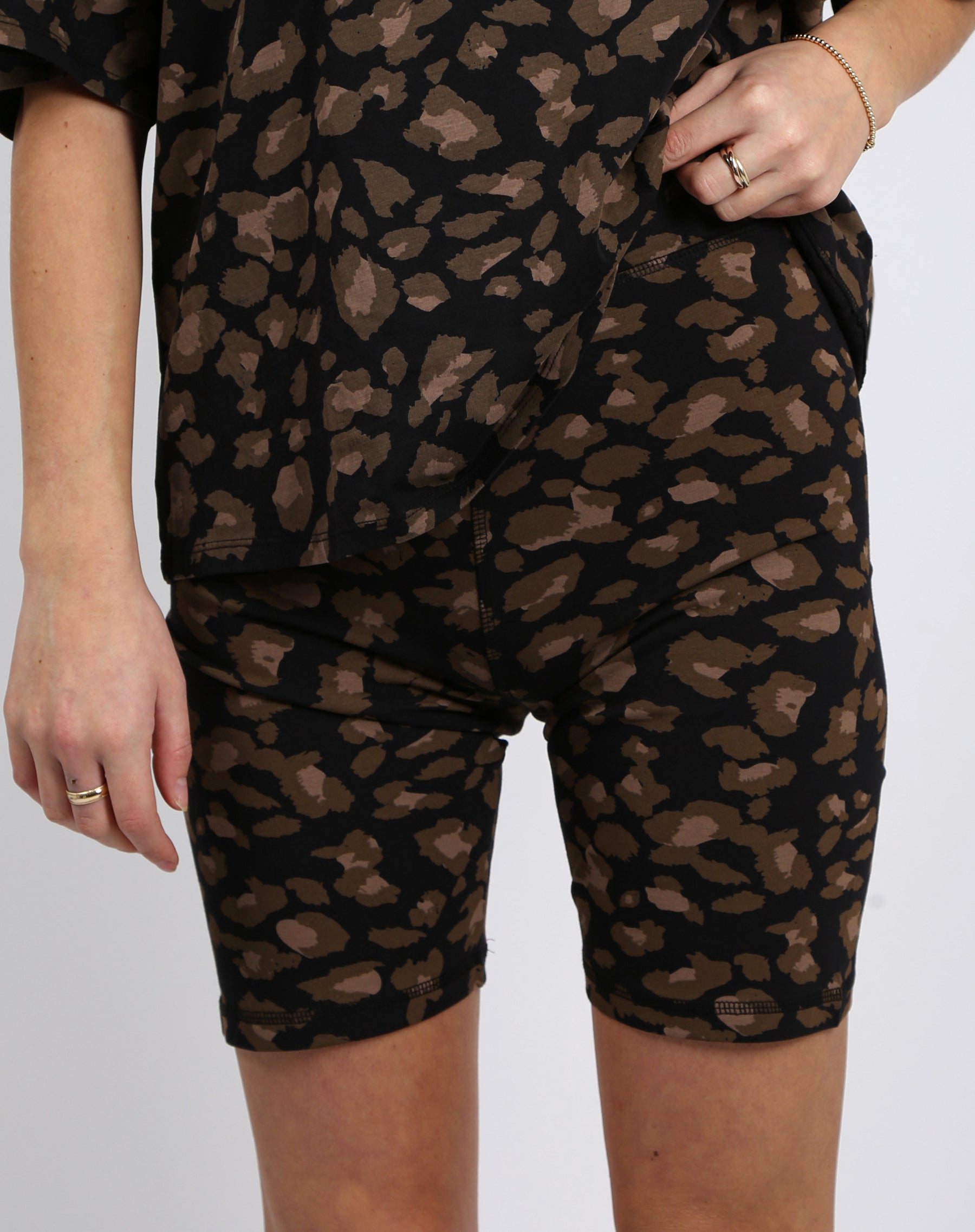 "The ""LEOPARD"" Bike Shorts 