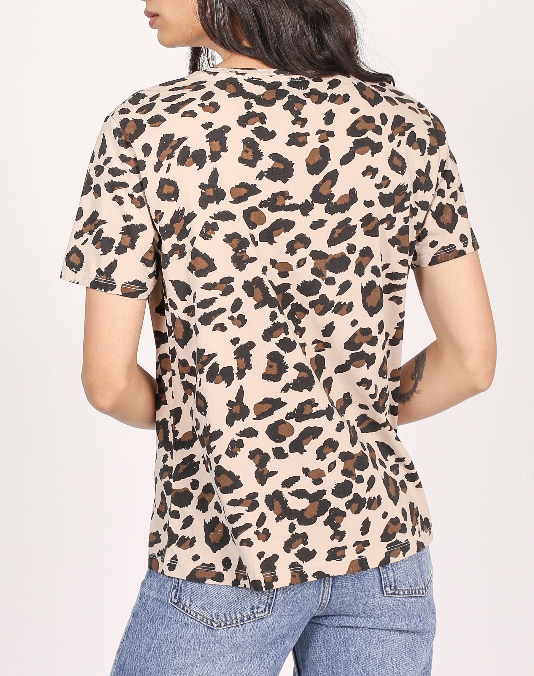 "The ""LEOPARD"" Classic Crew Neck Tee 