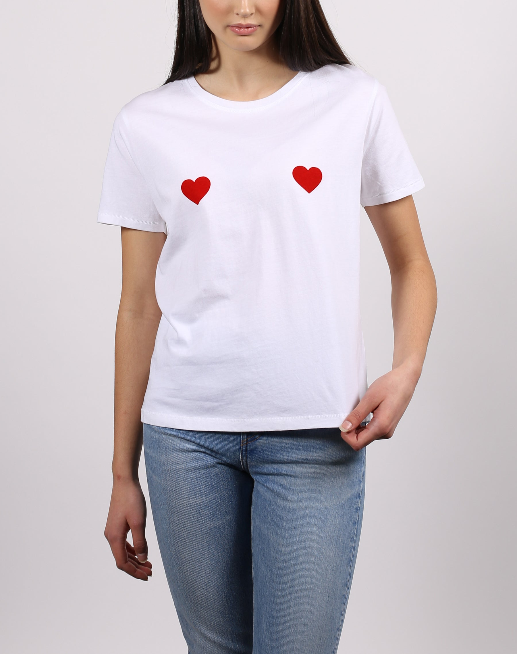 "The ""DOUBLE HEART"" Tee 