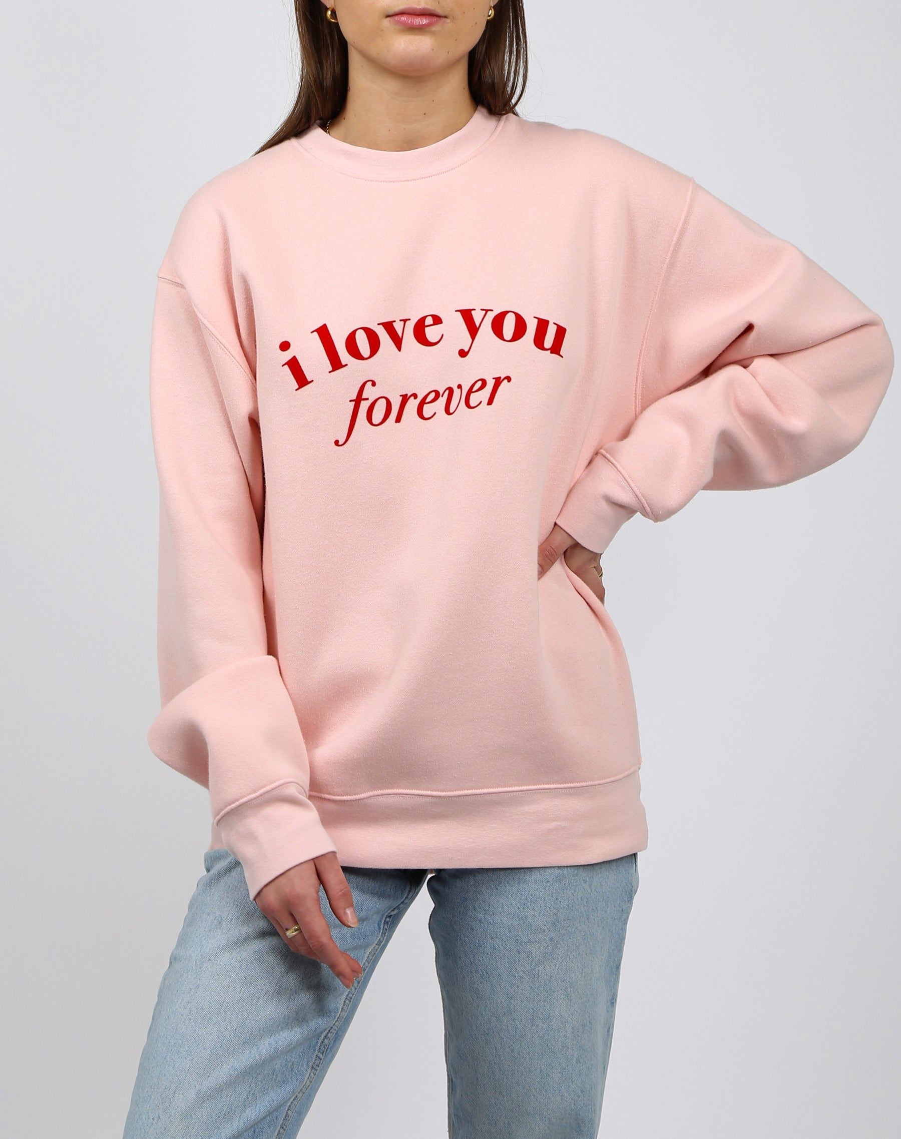 "The ""I LOVE YOU"" Classic Crew Neck Sweatshirt 
