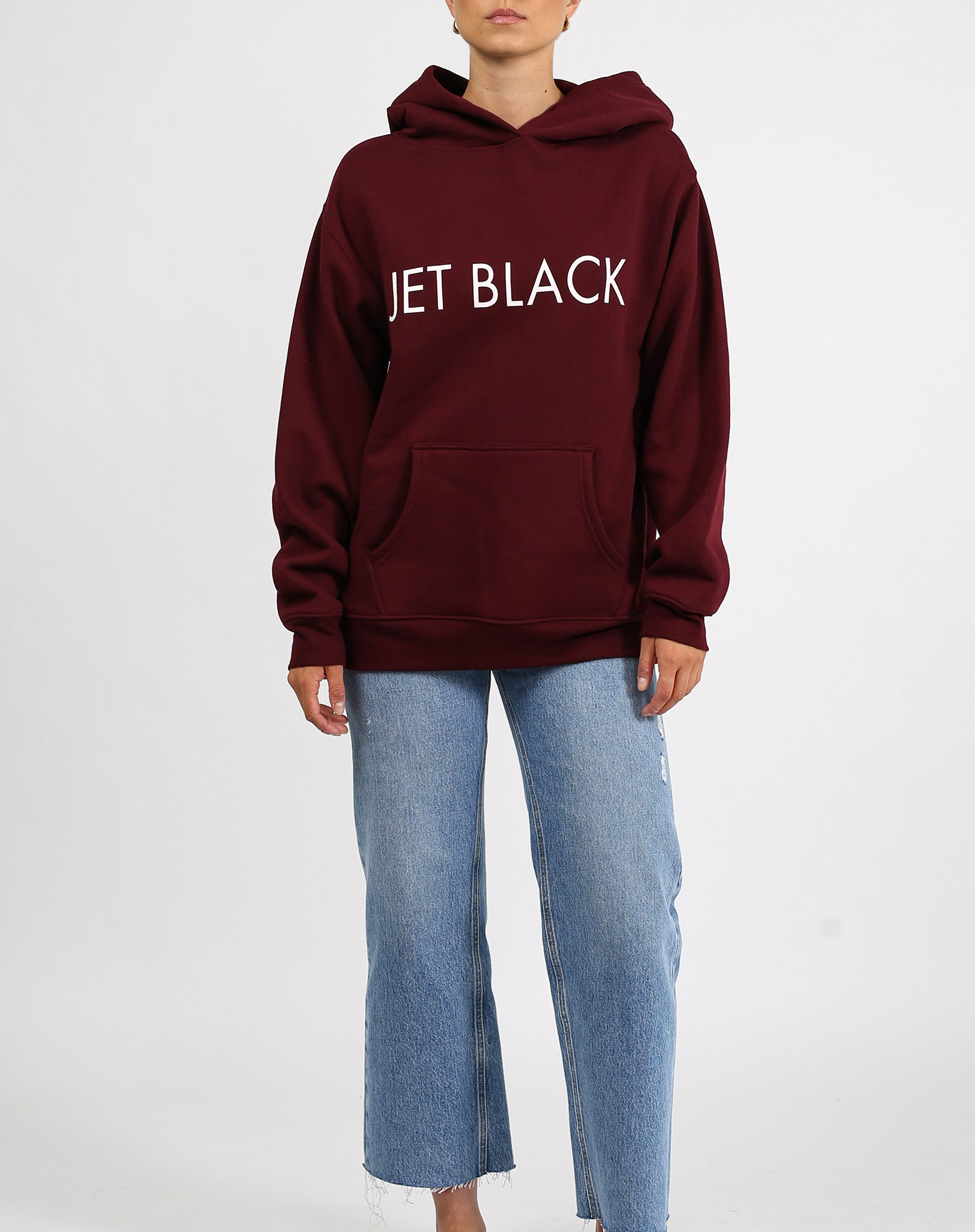 "The ""JET BLACK"" Classic Hoodie 