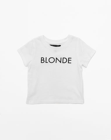 "The ""BLONDE"" Little Babes Crew Neck Sweatshirt 