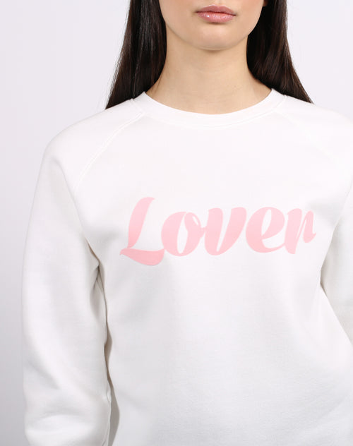 "The ""LOVER"" Classic Crew Neck Sweatshirt 