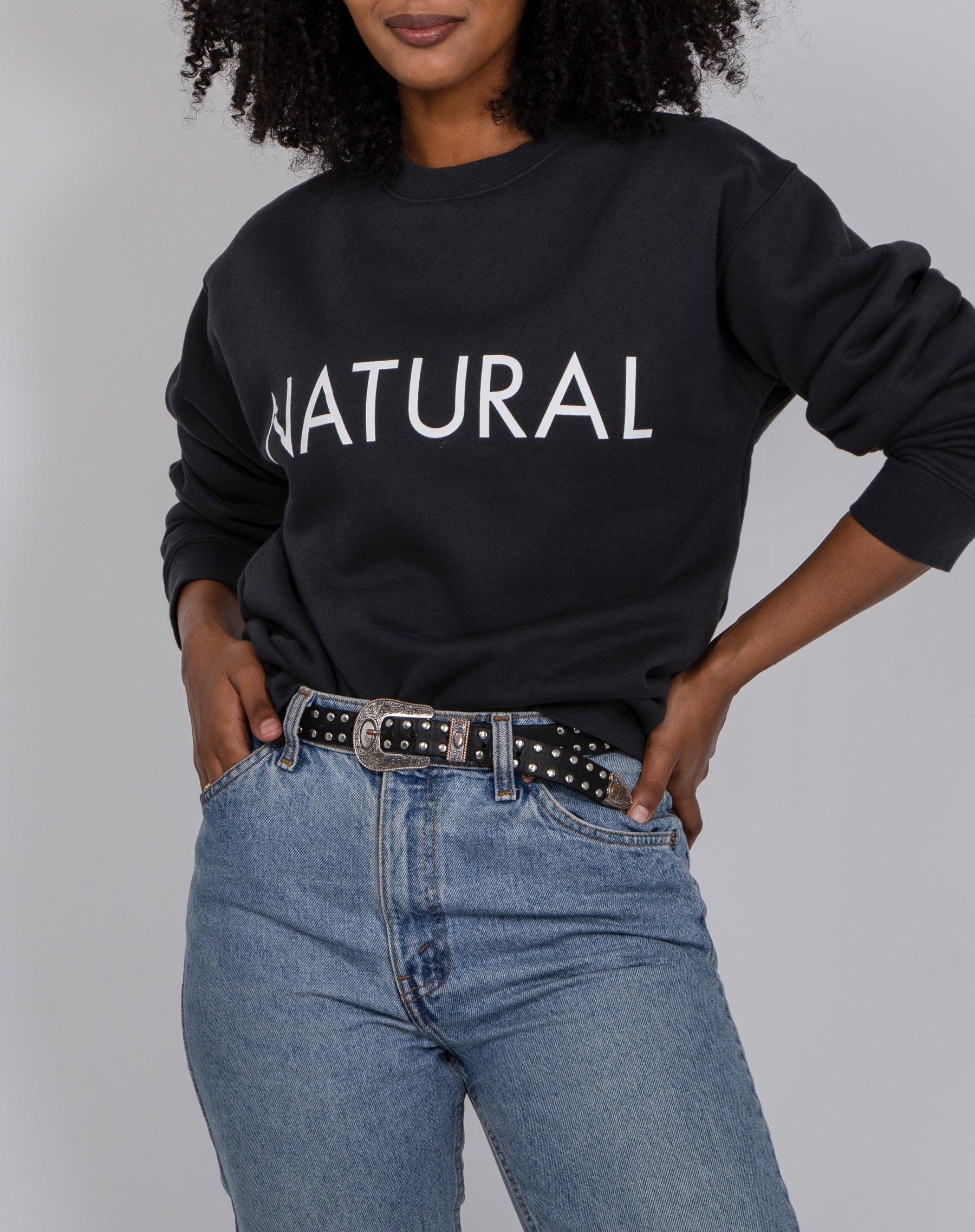 "The ""NATURAL"" Classic Crew Neck Sweatshirt 