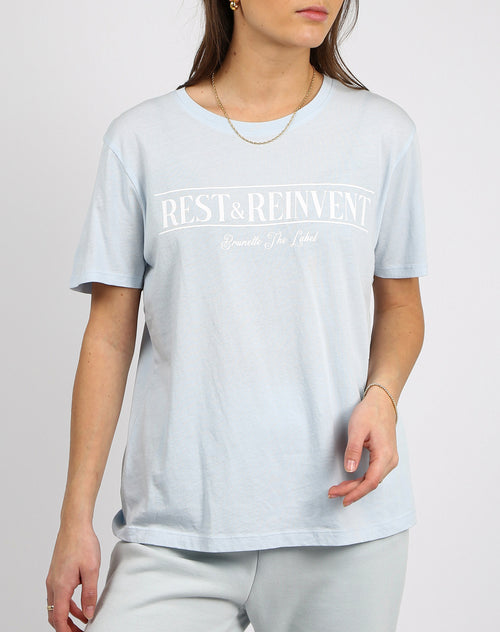 "The ""REST AND REINVENT"" Classic Crew Neck Tee 