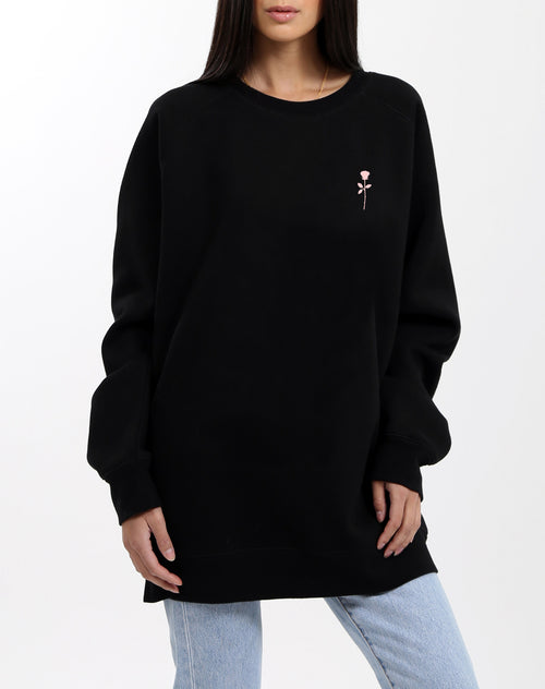 "The ""BABES CLUB ROSE"" Big Sister Crew Neck Sweatshirt 