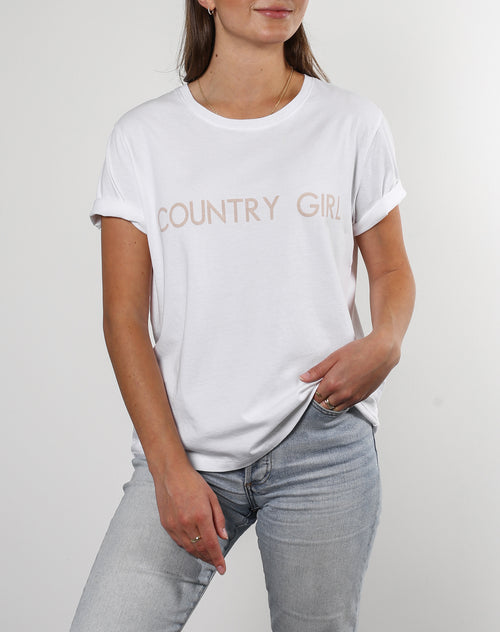 "The ""COUNTRY GIRL"" Crew Neck Tee 