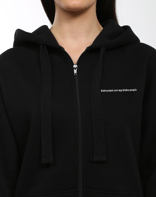 "The ""KINDNESS"" Big Sister Zip Up Hoodie 