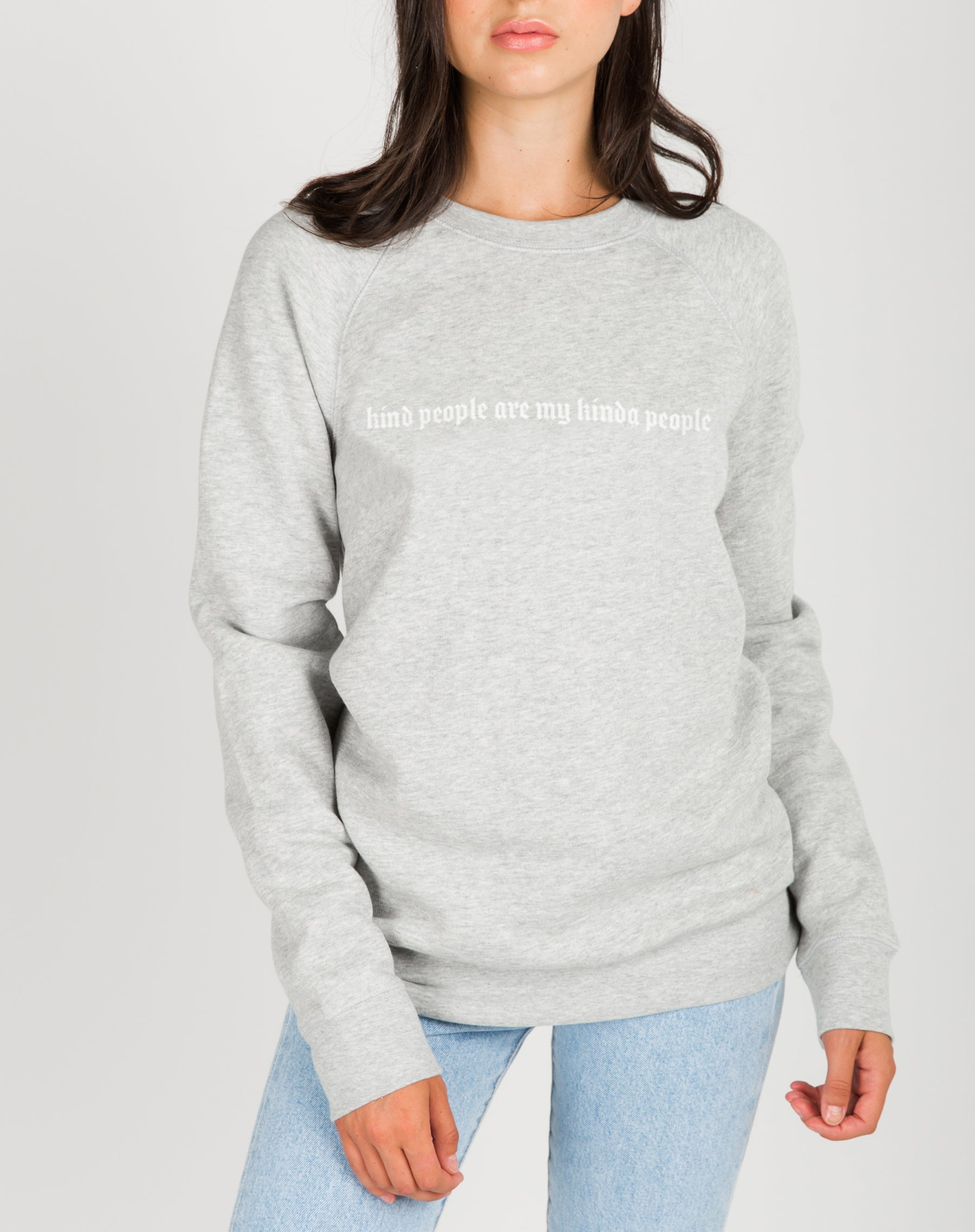 "The ""KINDNESS"" Classic Crew Neck Sweatshirt 
