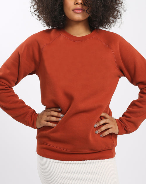 "The ""RUST"" Classic Crew Neck Sweatshirt 