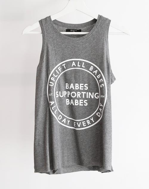 "The ""UPLIFT ALL BABES"" Mattie Tank 