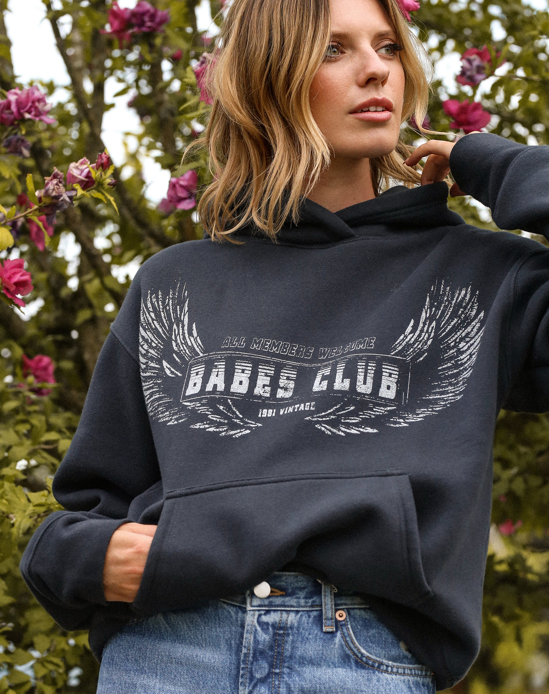 "The ""WELCOME TO THE BABES CLUB"" Step Sister Hoodie 