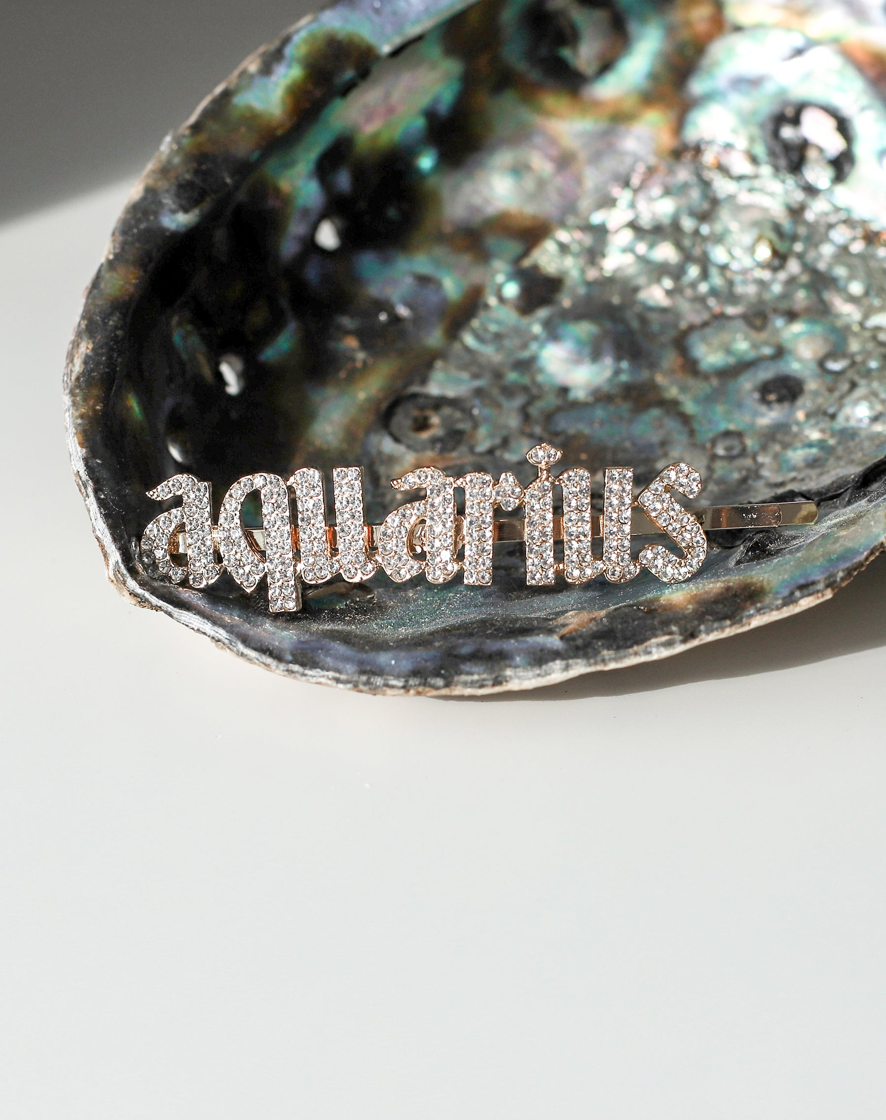This is photo of an Aquarius Hair Clip by Brunette The Label