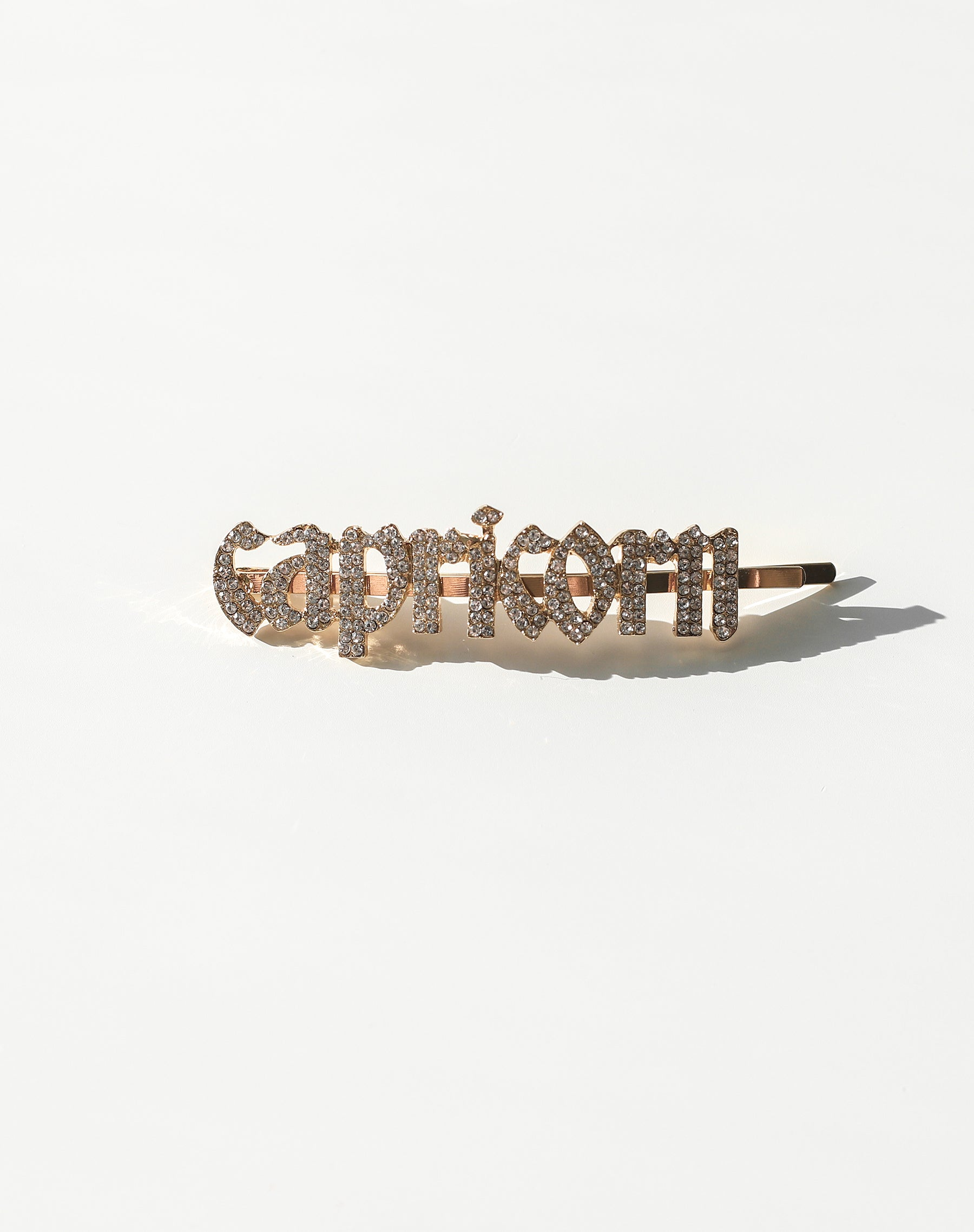 This is photo of an Capricorn Hair Clip by Brunette The Label