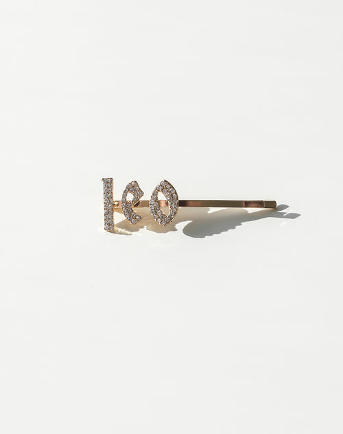 This is photo of an Leo Hair Clip by Brunette The Label