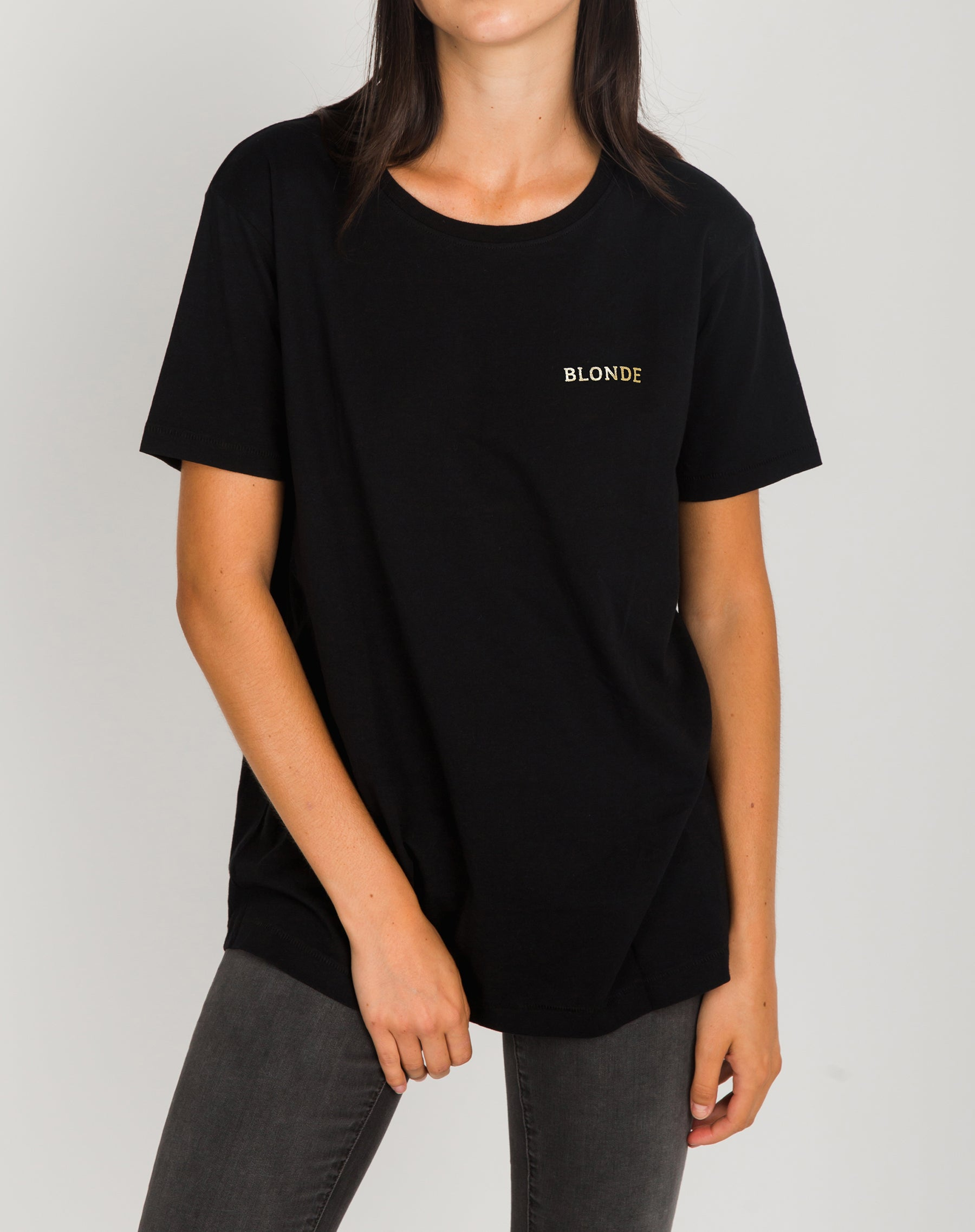 The Blonde Foil Tee Gold Foil
