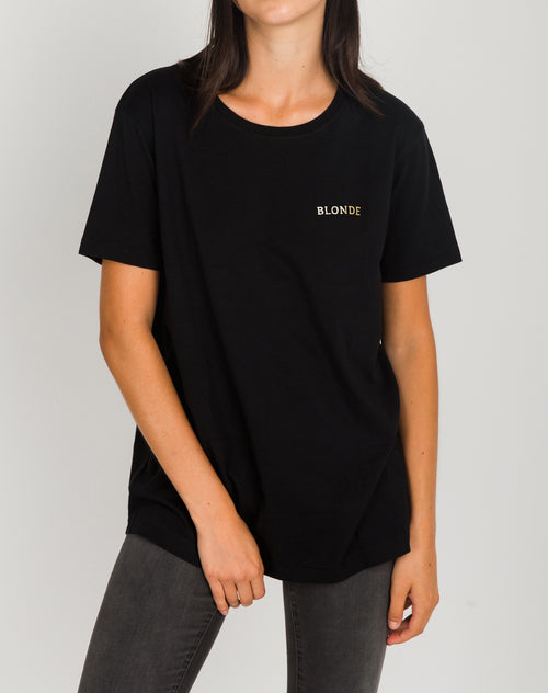"The ""BLONDE"" Foil Tee 