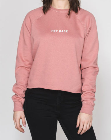 "The ""LOVER"" Crew Neck Sweatshirt 