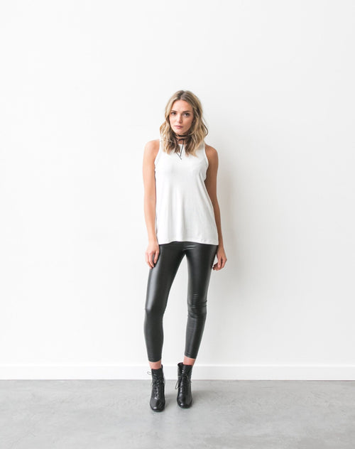 "The ""Sophie"" Ribbed Cotton Tank 
