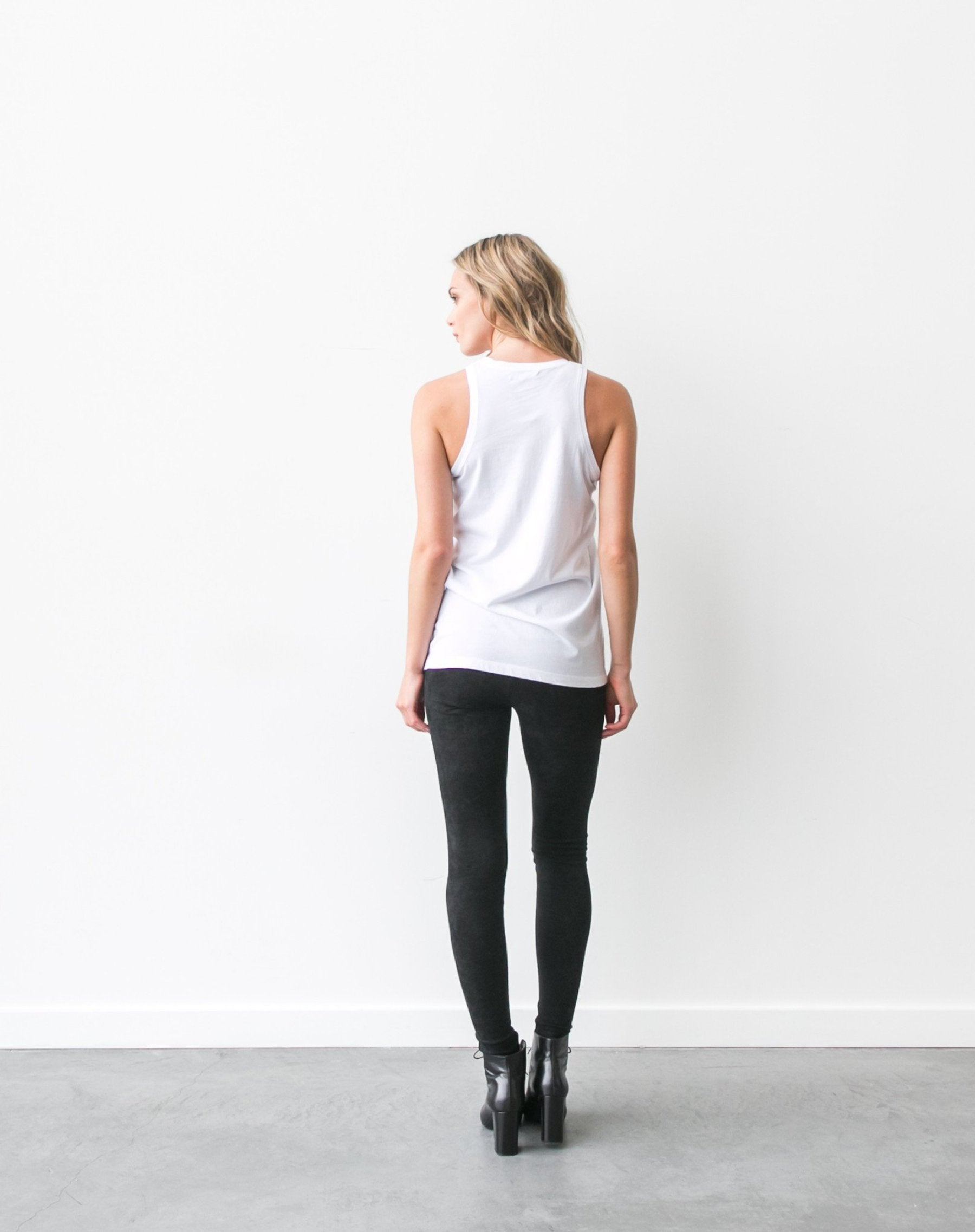 "The ""Blonde"" Crew Neck Tank"