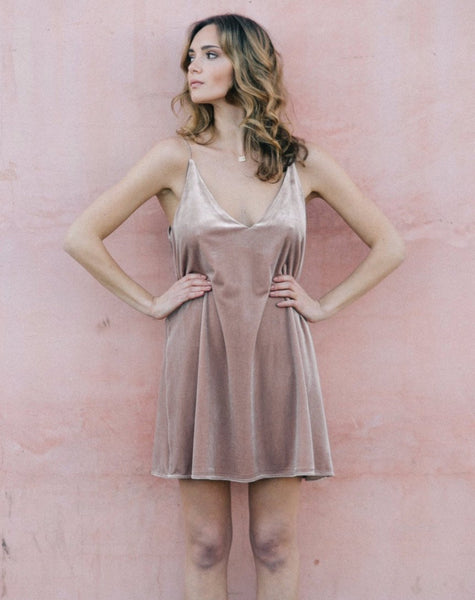 "The ""Violet"" Dress in Nude"