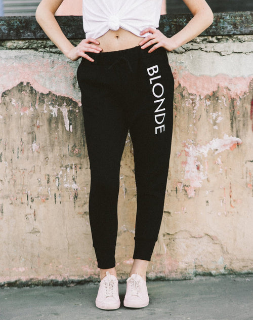 "The ""Blonde"" Printed Joggers"