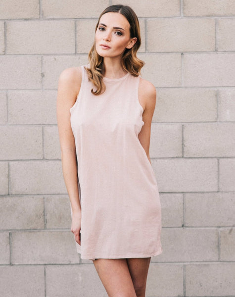 "The ""Kate"" Slip Dress - NUDE"