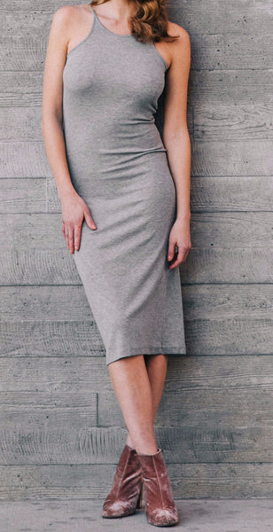 "The ""Elle"" Dress in Heather Grey"