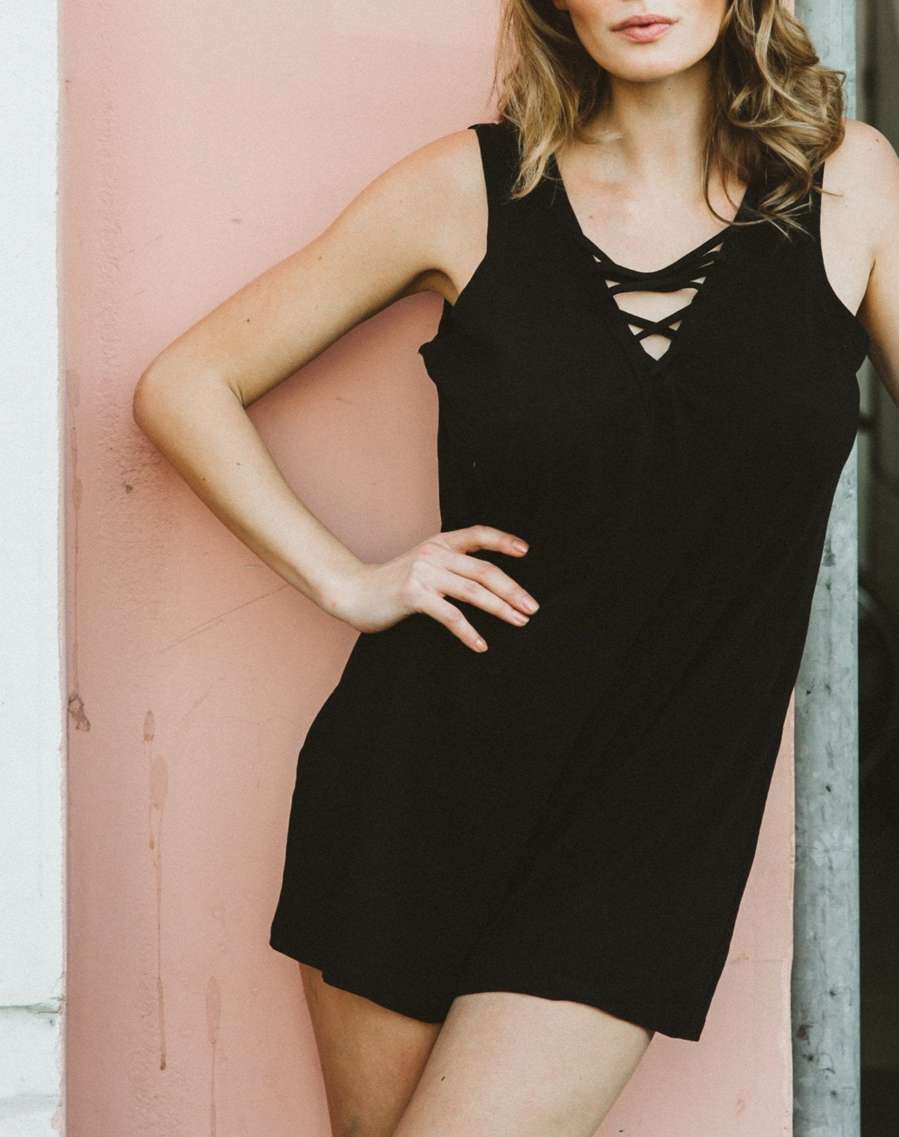 "The ""Ivy"" Playsuit - BLACK"