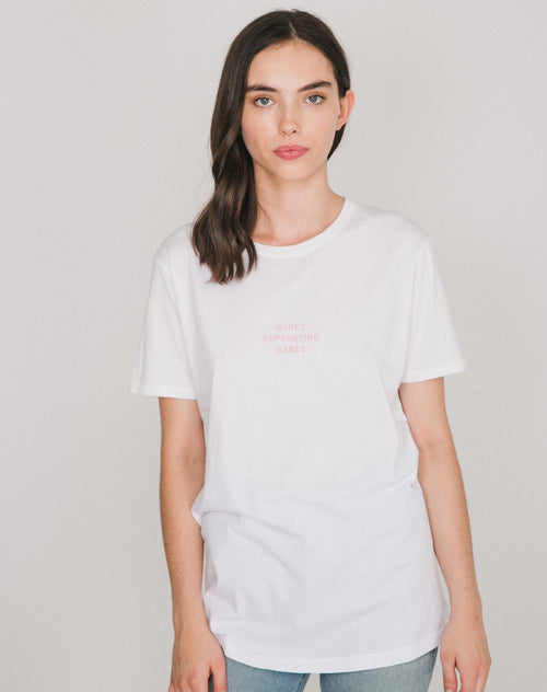 "The ""BABES SUPPORTING BABES"" Mini Graphic Tee 