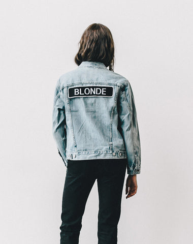 "The ""LINDSAY"" Customizable Denim Jacket"