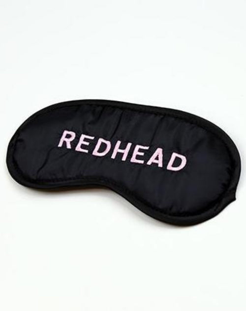 "The ""Redhead"" Sleep Mask"