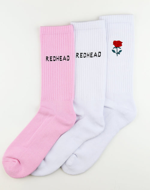 "The ""Redhead"" Sock Package"