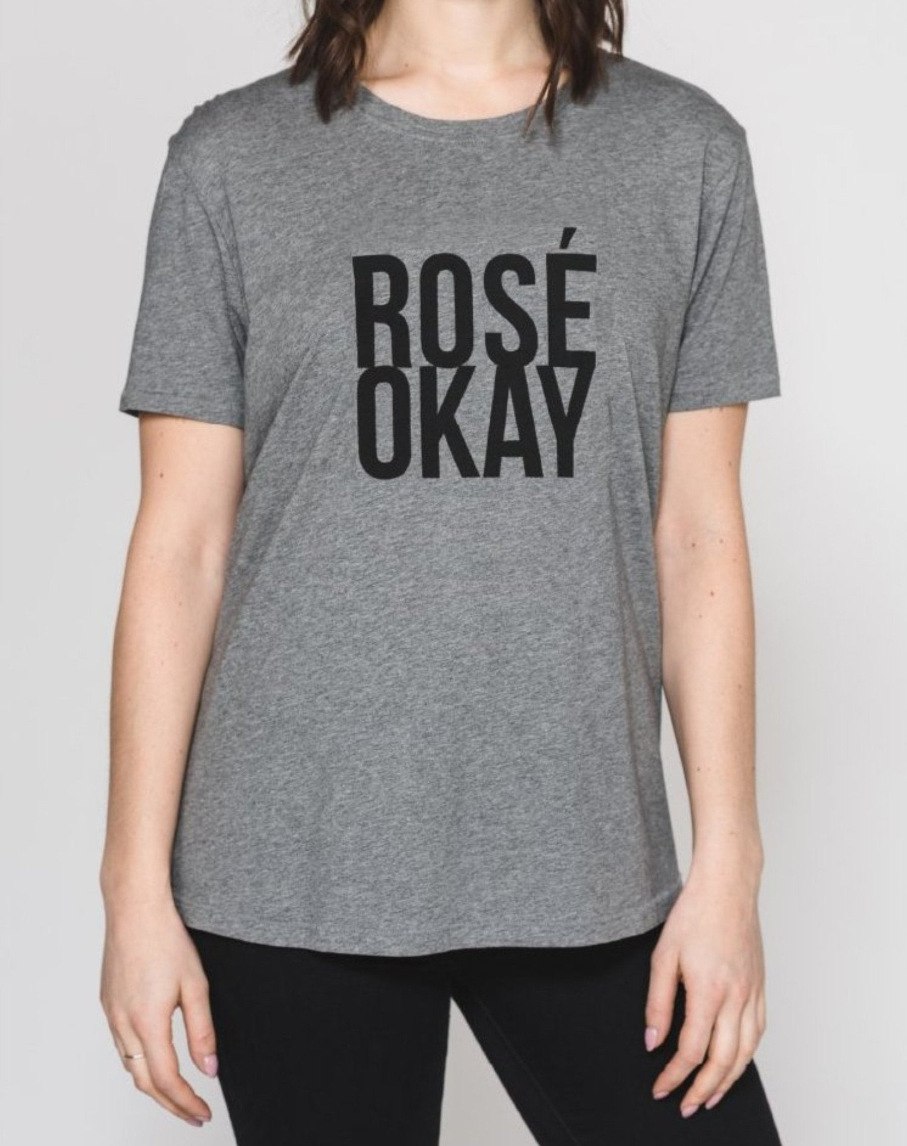 "The ""ROSE OKAY"" Crew Neck tee 