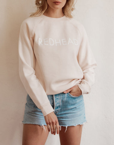"The ""BLONDE"" Middle Sister Crew Neck Sweatshirt 